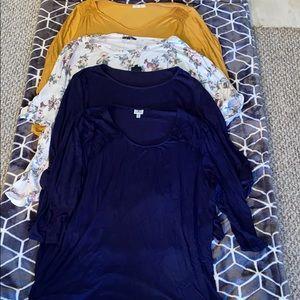 4 pice shirt lot Size 3X